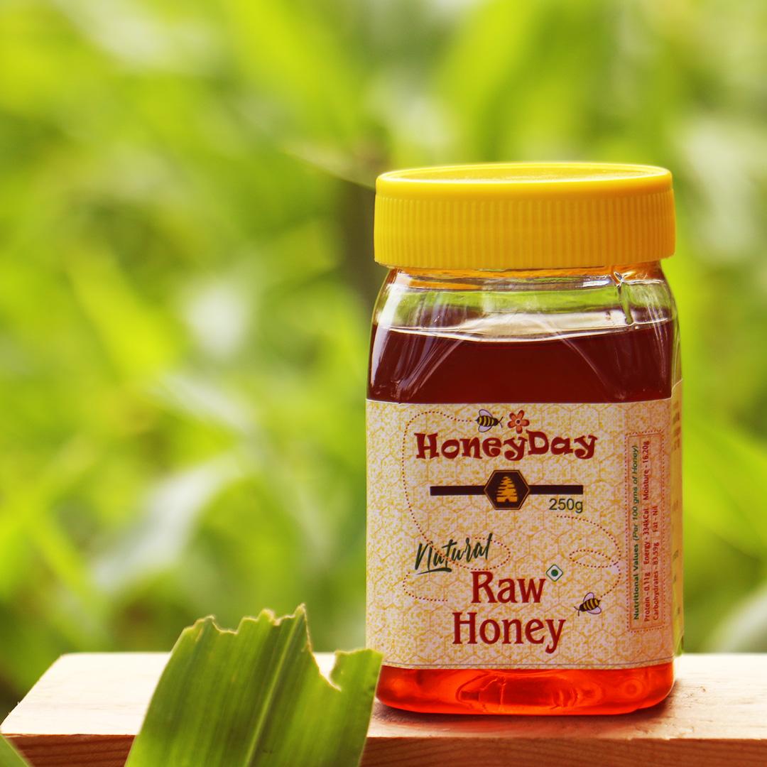 Natural Raw Honey (Multifloral) 250g