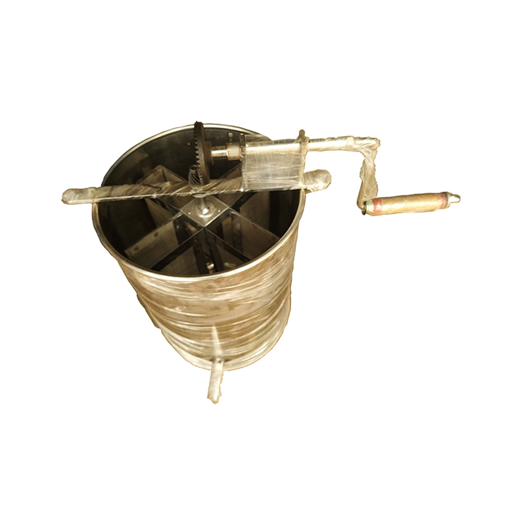 SS Honey Extractor 4 Frames, For Cerana